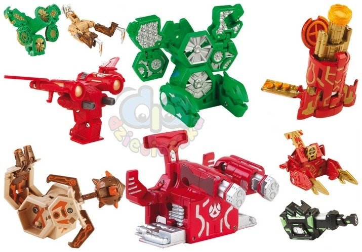 Bakugan Gundalian Battle Gear Zabawki Bakugan