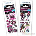 NAKLEJKI 66x126 MONSTER HIGH SILVER