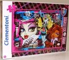 PUZZLE 104 EL MONSTER HIGH Clementoni NOWY WZÓR!!!!