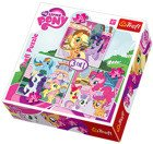 PUZZLE 3w1 MY LITTLE PONY RAINBOWDASH I FLUTTERSHY TREFL 34190
