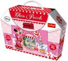 PUZZLE 50 BROKATOWE GLAM MINNIE TREFL 14803