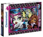 PUZZLE 500 EL MONSTER HIGH Clementoni