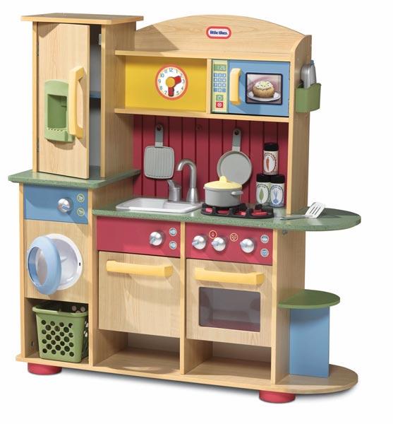 LT Kuchnia Drewniana z Akcesoriami Pralka Zabawki dla dzieci, klocki cobi   -> Drewniana Kuchnia Z Akcesoriami Howa