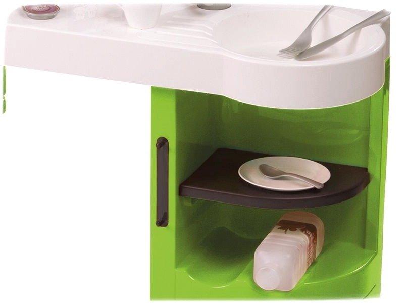 smoby kuchnia cook master zielona zestawy sklepowe i domowe zabawki dla dzieci w wieku od 3. Black Bedroom Furniture Sets. Home Design Ideas