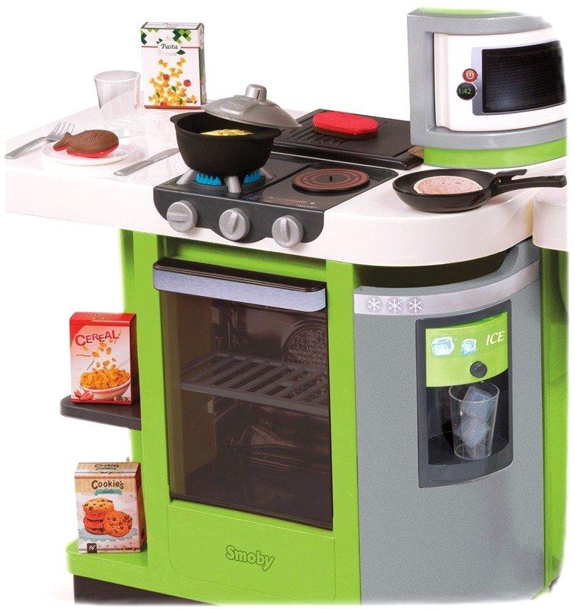 smoby kuchnia cook master zielona zestawy sklepowe i domowe zabawki dla dzieci w wieku od 3