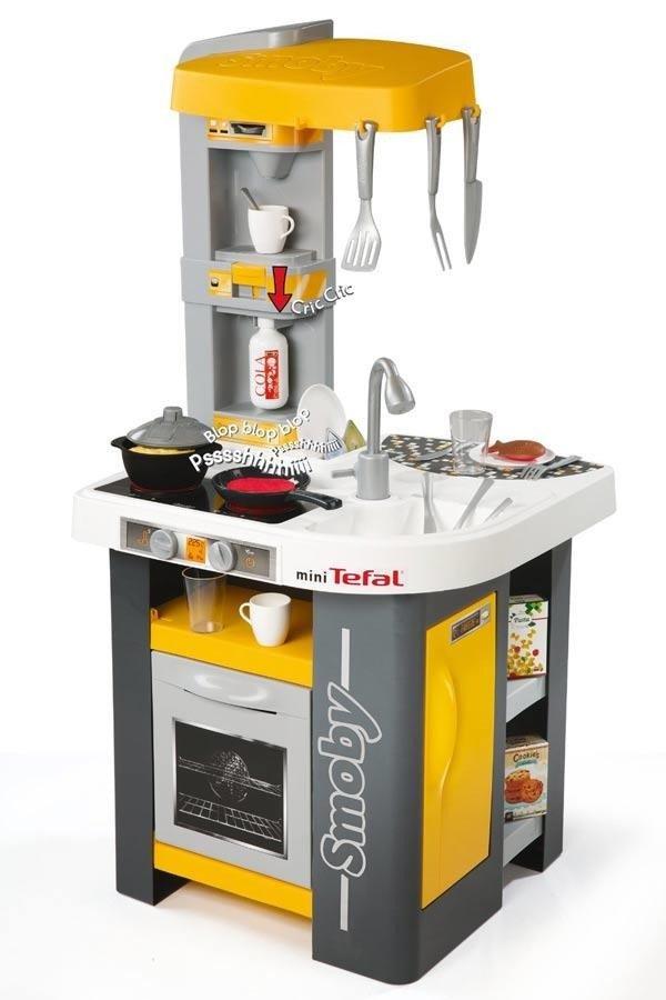 SMOBY Kuchnia miniTefal Studio  Zestawy sklepowe i domowe zabawki dla dzieci