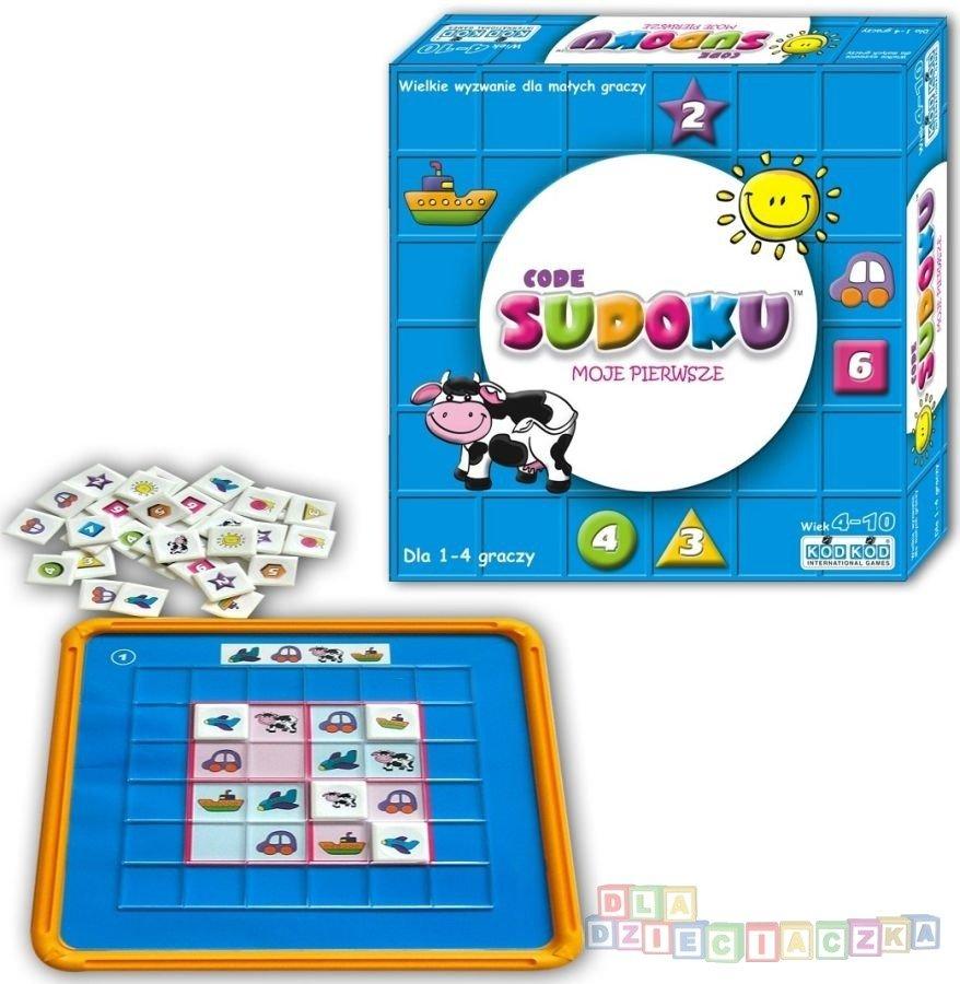 Sudoku junior - gra logiczna dla dzieci od 4 lat