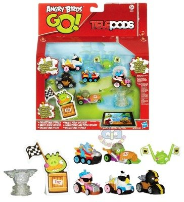 HASBRO Angry Birds Go Deluxe Multi Pack