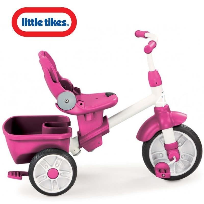 LITTLE TIKES Rowerek Perfect Fit 4w1 Trike pink.