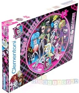 ROUND PUZZLE 500 el MONSTER HIGH
