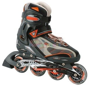 Rolki Goldstar Profi Super Plus 32-35 orange ABEC 5