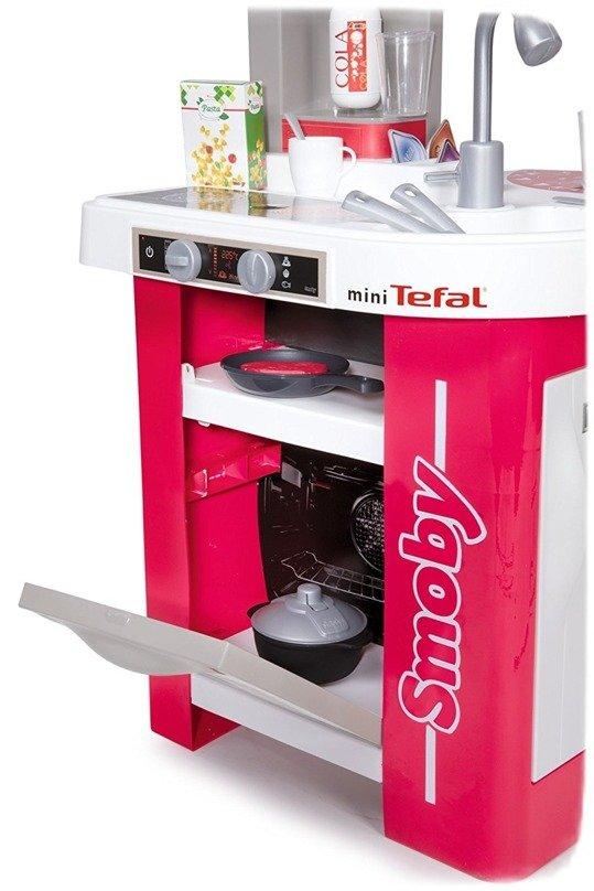 SMOBY Kuchnia elektroniczna Tefal Studio  Zestawy sklepowe i domowe zabawki   -> Kuchnia Dla Dziecka Od Jakiego Wieku