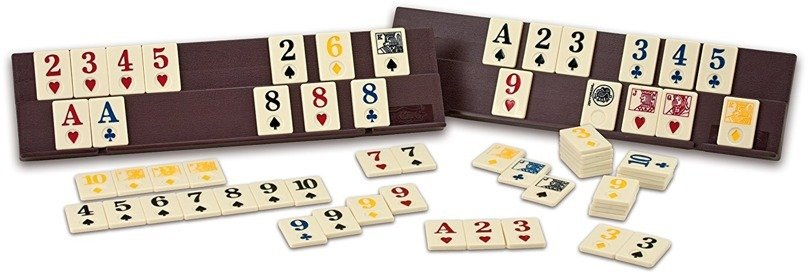 TACTIC Gra  LOGICZNA Rummy Collection Clasique