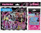 MONSTER HIGH Album do naklejek + starter