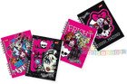 NOTES SPIRALNY Z PODDRUKIEM A6 56K MONSTER HIGH