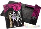 TECZKA A4 z gumką MONSTER HIGH 2012
