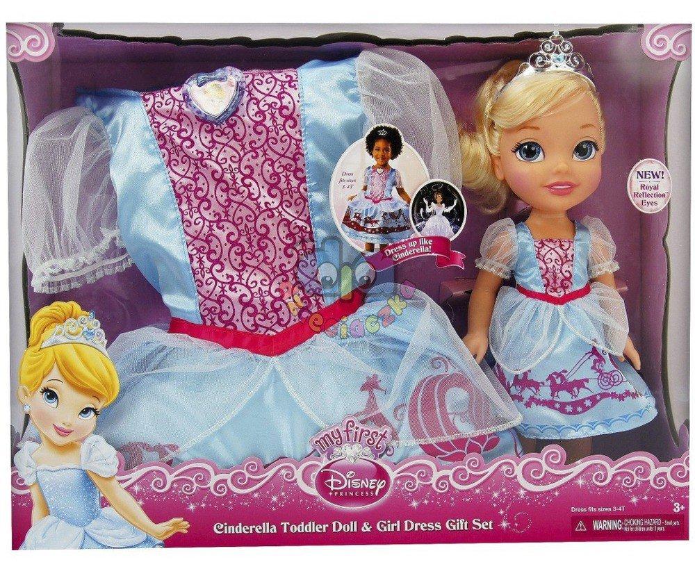 0dc570181f DISNEY lalka Kopciuszek+sukienka dla dziewczynki 3-4 lata KARNAWAŁ ...