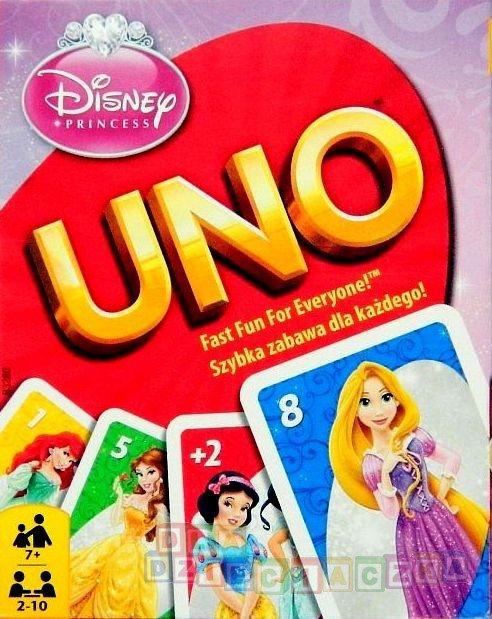 d9ca9feb7 Gra UNO - Disney Princess   Zabawki \ Gry zabawki dla dzieci w wieku ...