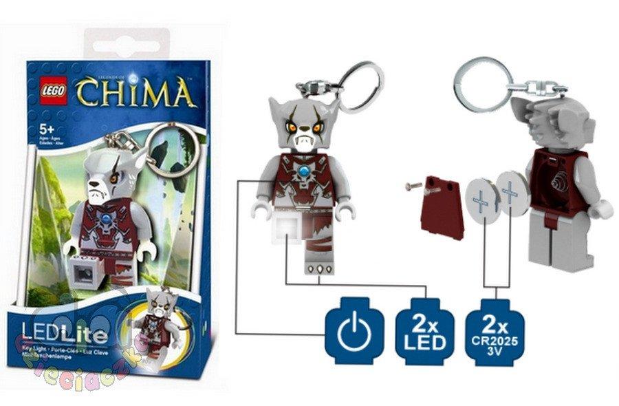Lego Brelok Chima Worriz Lgl Ke37 Led Klocki Lego Lego Chima