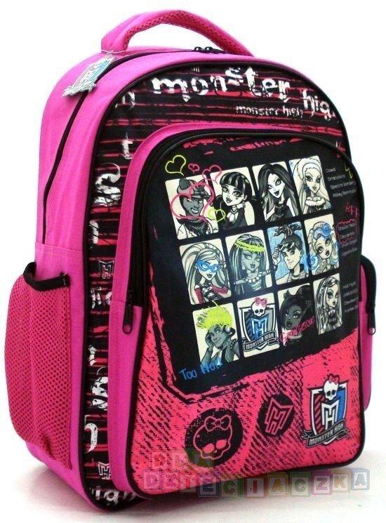 1767d0172be49 PLECAK szkolny dla dziewczynki Monster High 22731 | ARTYKUŁY SZKOLNE ...