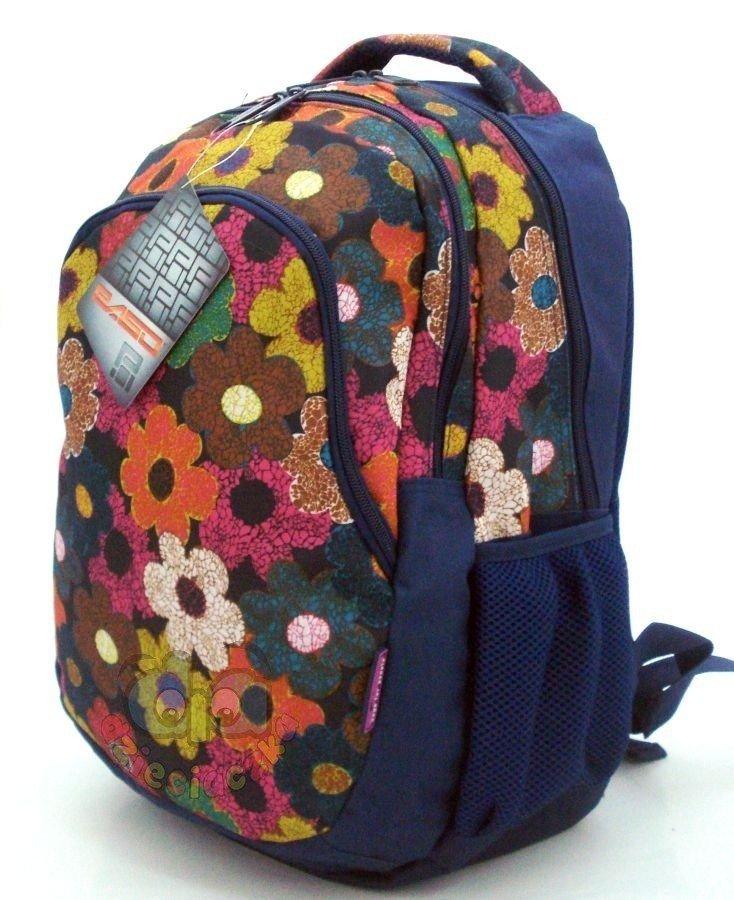 f3bece9000259 ... Plecak młodzieżowy MALOWANE KWIATY 81-699I Paso ...