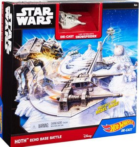 HOT WHEELS STAR WARS zestaw STARCIE AT-AT lub  zestaw TIE FIGHTER MATTEL CGN33