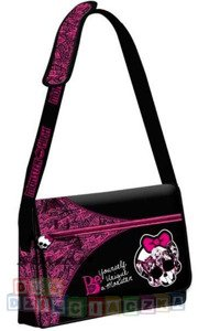 MONSTER HIGH TORBA NA RAMIĘ A4 BE UNIQUE