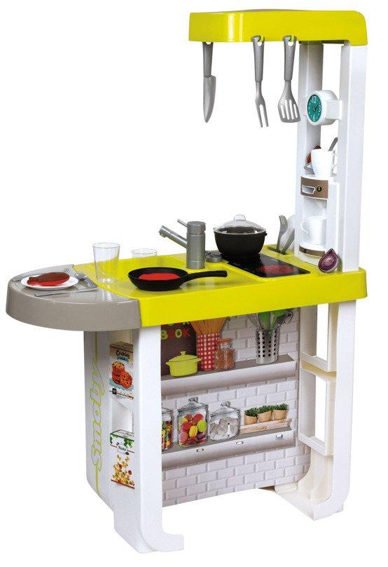 Smoby Kuchnia Elektroniczna lodówka piekarnik Cherry  Zestawy sklepowe i dom   -> Kuchnia Dla Dziecka Od Jakiego Wieku