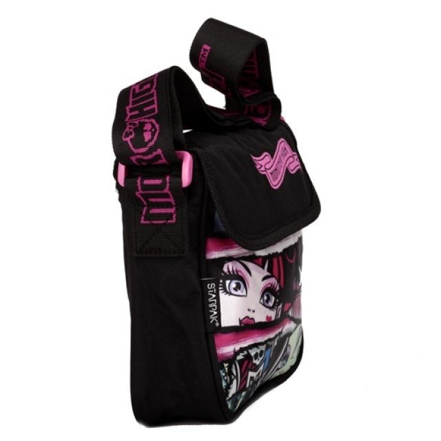 śliczna MONSTER HIGH TOREBKA MINI FRANKIE I DRACULAURA